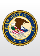 Emblem of Department of Justice
